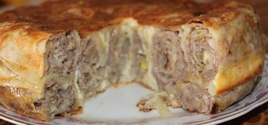 Теперь мясные пироги готовлю только так! От этого сытного пирога мой муж в восторге!