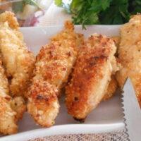 Куриное филе в овсяной панировке: 10 минут готово!
