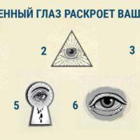 Тесты в картинках: таинственный глаз раскроет ваши мысли