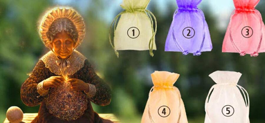 Тест: выберите мешочек, чтобы получить подарок от мудрой бабушки