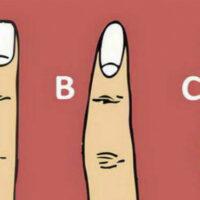 Тест: форма пальца может многое рассказать о вашей личности!