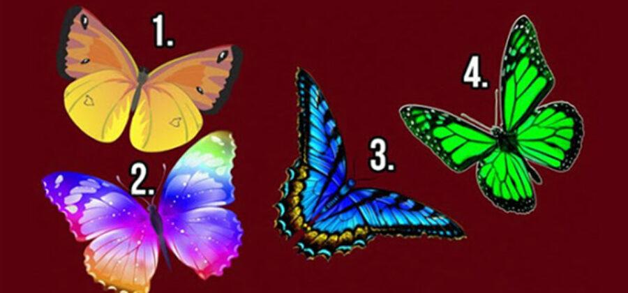 Тест: Нажмите на бабочку, которая вам приглянулась и узнайте тайны своей души