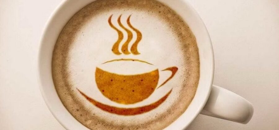 Рисуем на кофейной пенке
